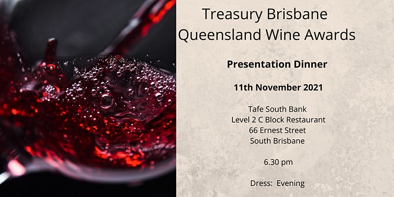Queensland Wine Awards Presentation Dinner